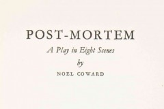Play Reading in English - Post Mortem by Noël Coward