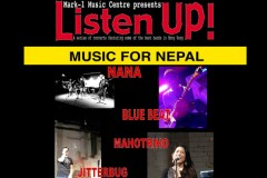 Listen Up! Japanese Band Night for Nepal