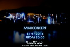 Papillon Blue Mini Concert