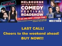 The Melbourne International Comedy Festival Roadshow Hong Kong