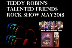 Teddy Robin's Talented Friends Rock Show MAY2018