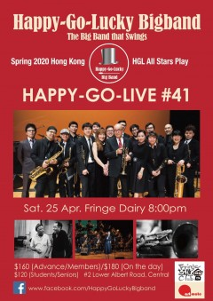 【Cancelled】Big Band Night - Happy-Go-Live