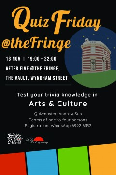 Quiz Friday @Fringe